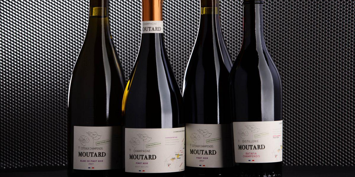 Famille Moutard - 4 nouvelles références sans soufre ajouté